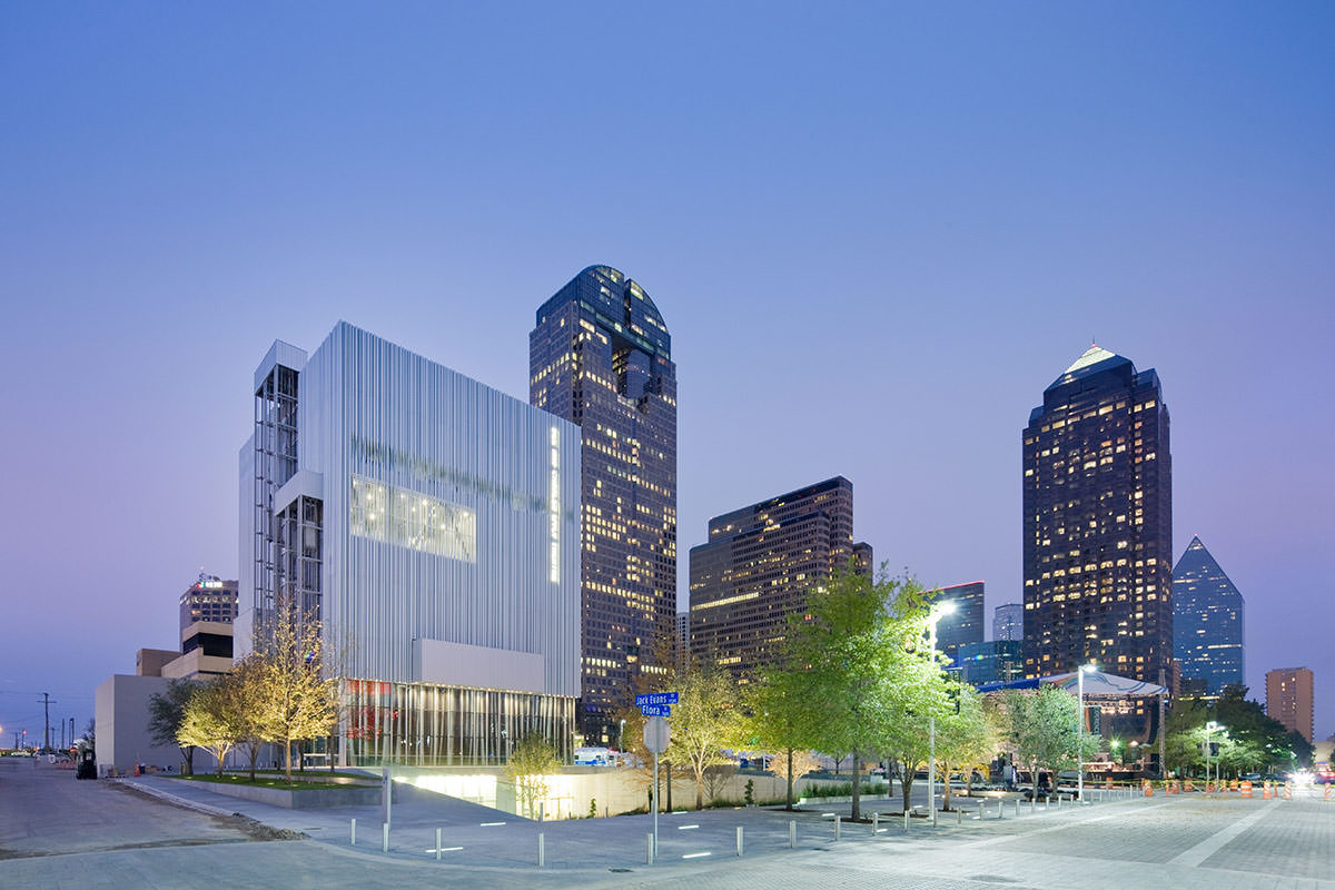 Dee and Charles Wyly Theater, AT&T Performing Arts Center - Dallas TX, USA