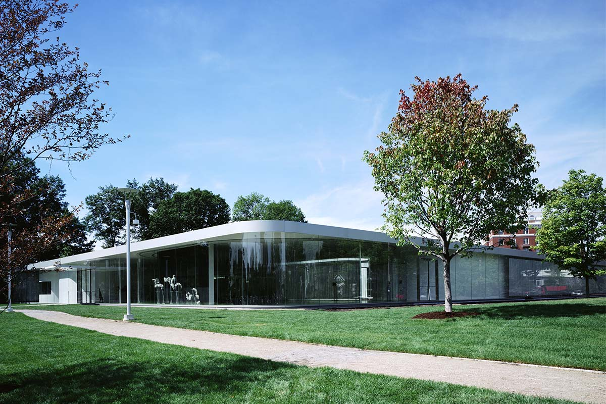 Glass Pavilion Toledo Museum Of Art Front Inc