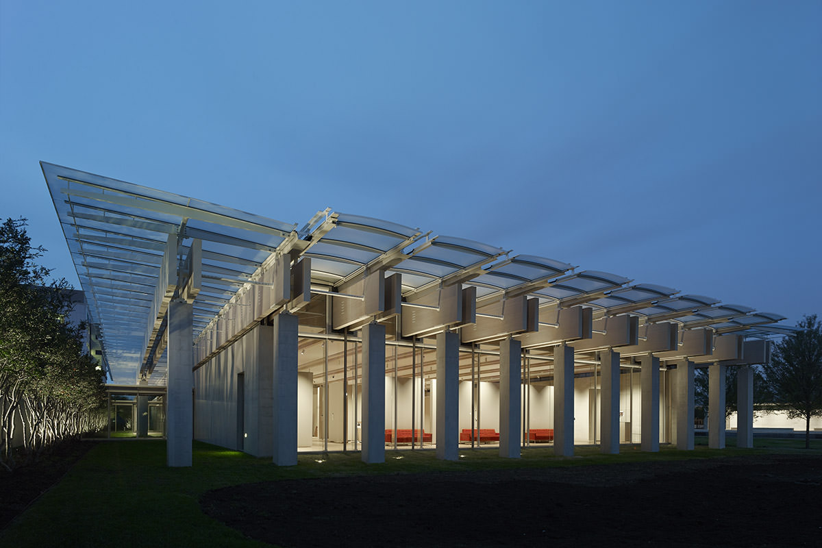 Kimbell Art Museum Expansion Front Inc