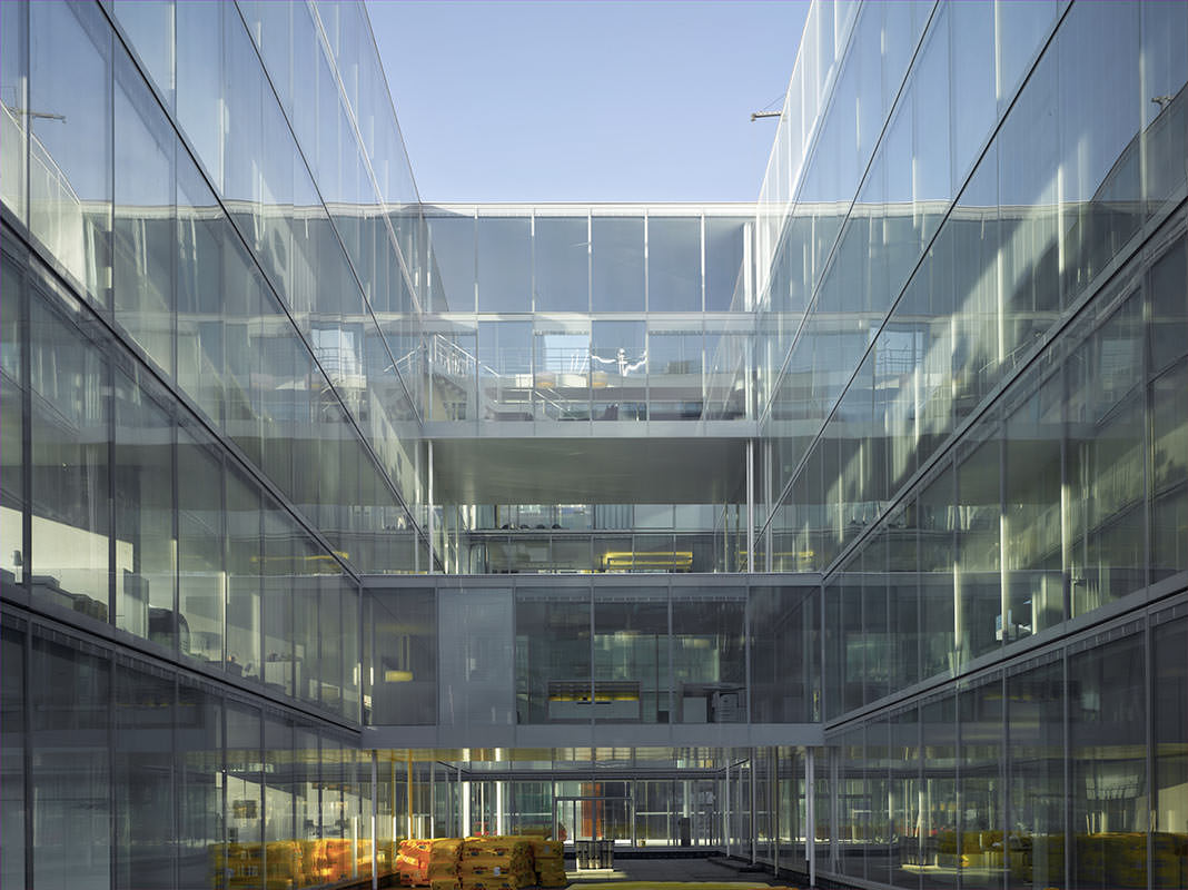Novartis Fabrikstrasse 4 Office Building Novartis Global Headquarters Campus Front Inc