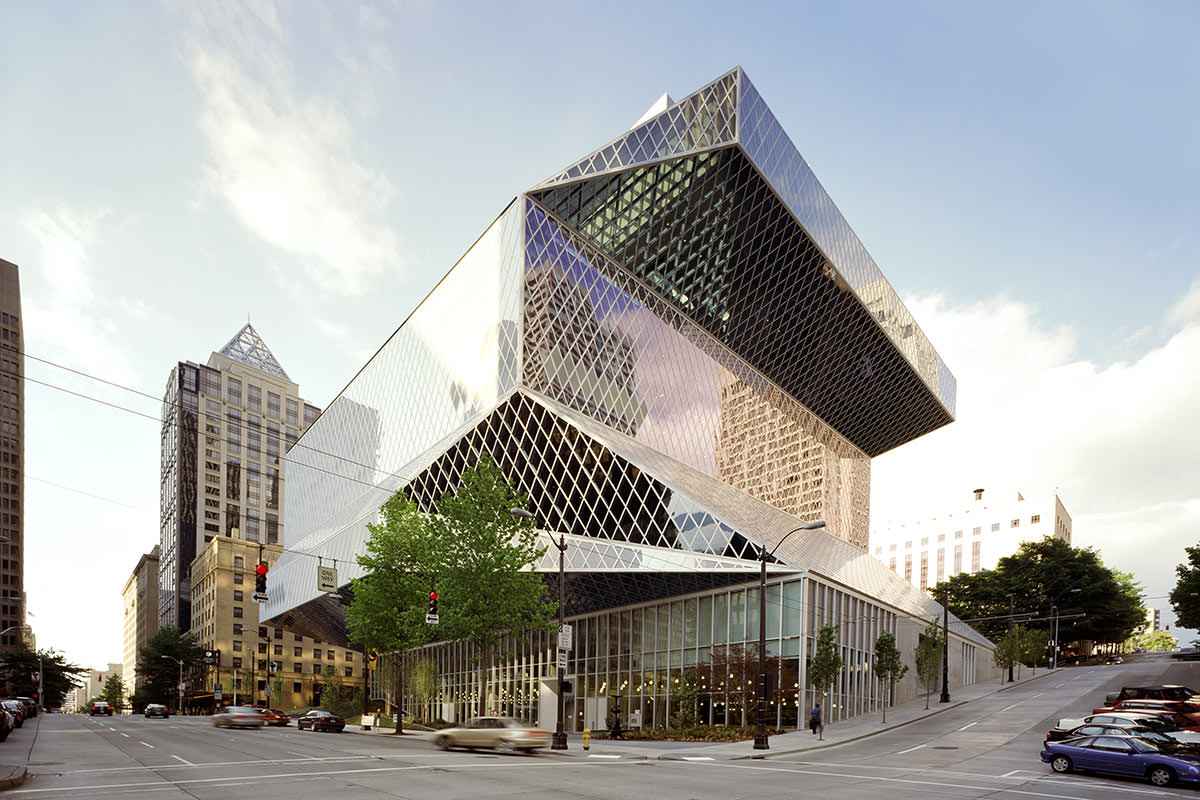 Seattle Central Library - Seattle WA, USA