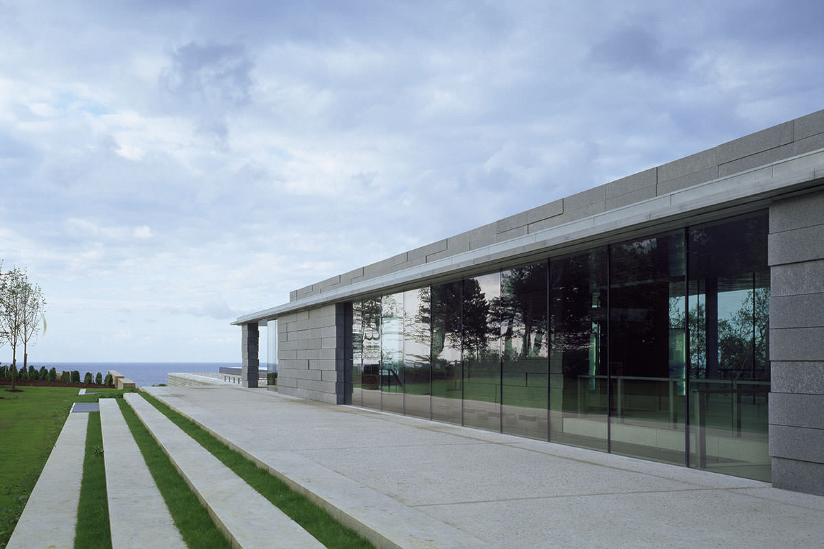Normandy American Cemetery Visitor Center Front Inc