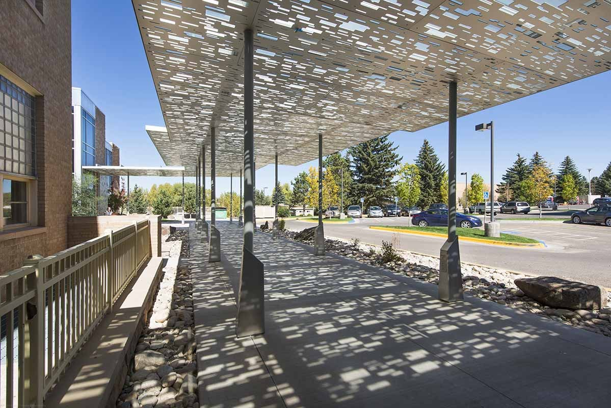 University Of Wyoming Canopy Connector Front Inc