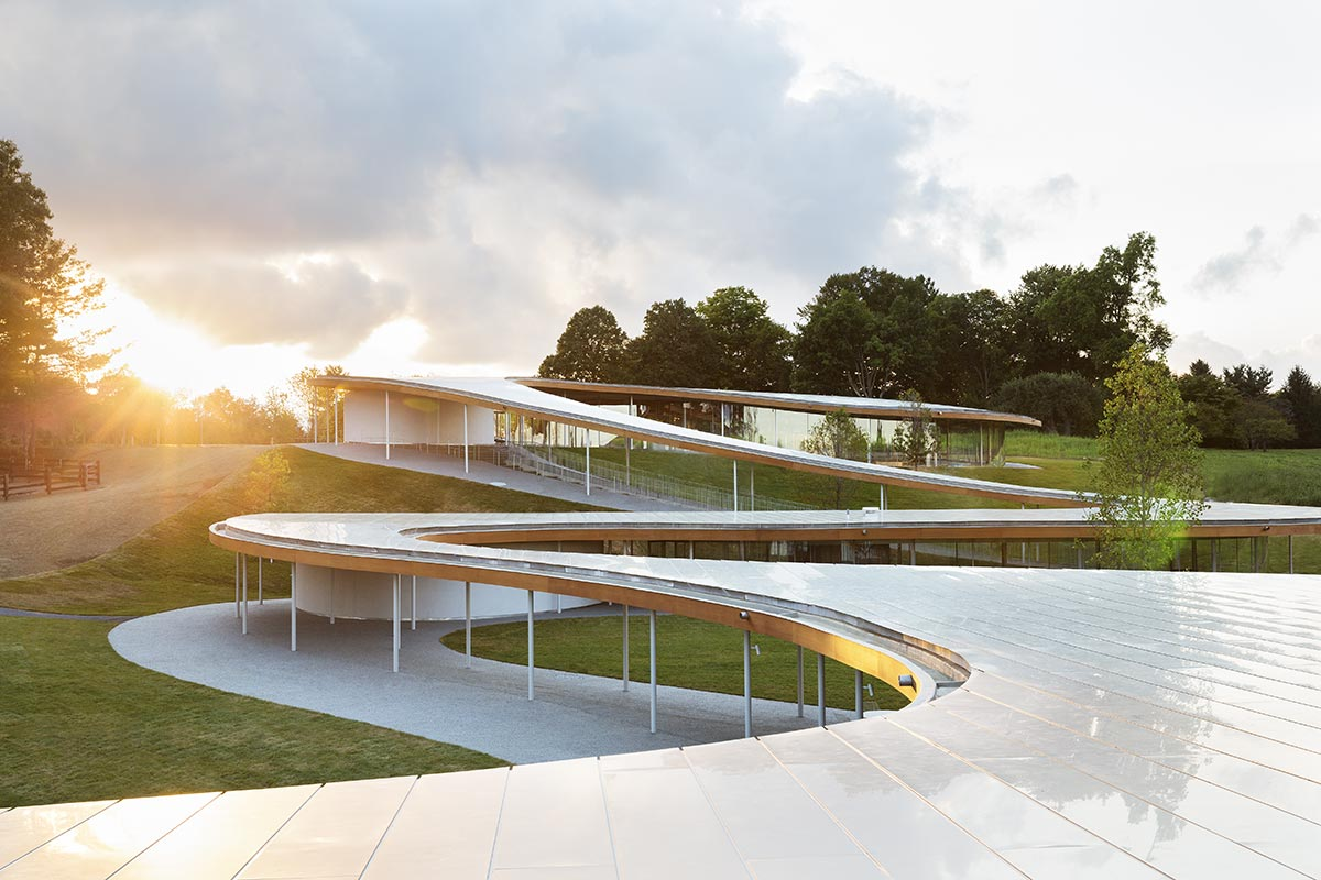 SANAA Honored with the 2014/2015 Mies Crown Hall Americas Prize for Grace Farms River Building