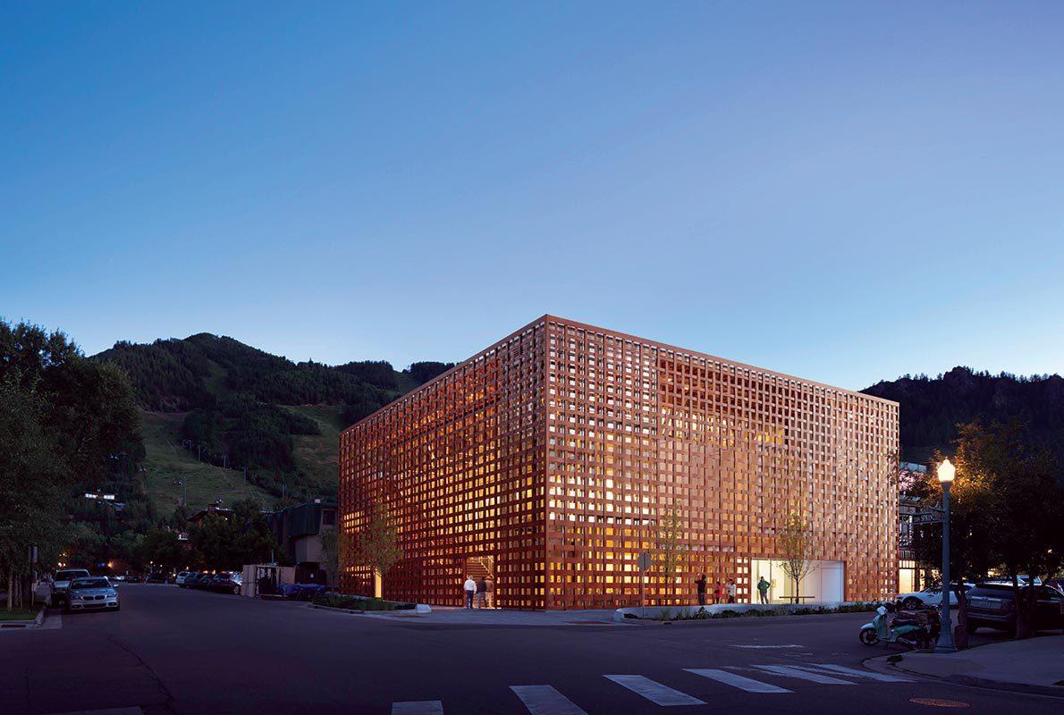 Film: Shigeru Ban's Aspen Art Museum