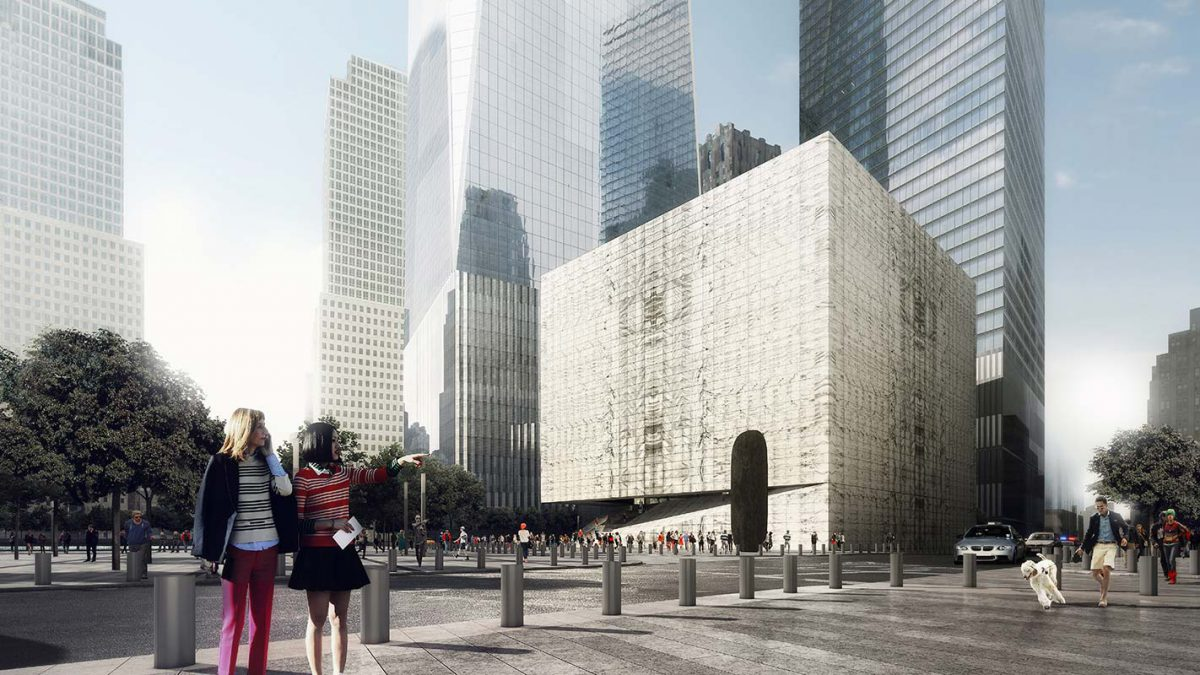 The World Trade Center Site Made Whole by Performing Arts Venue