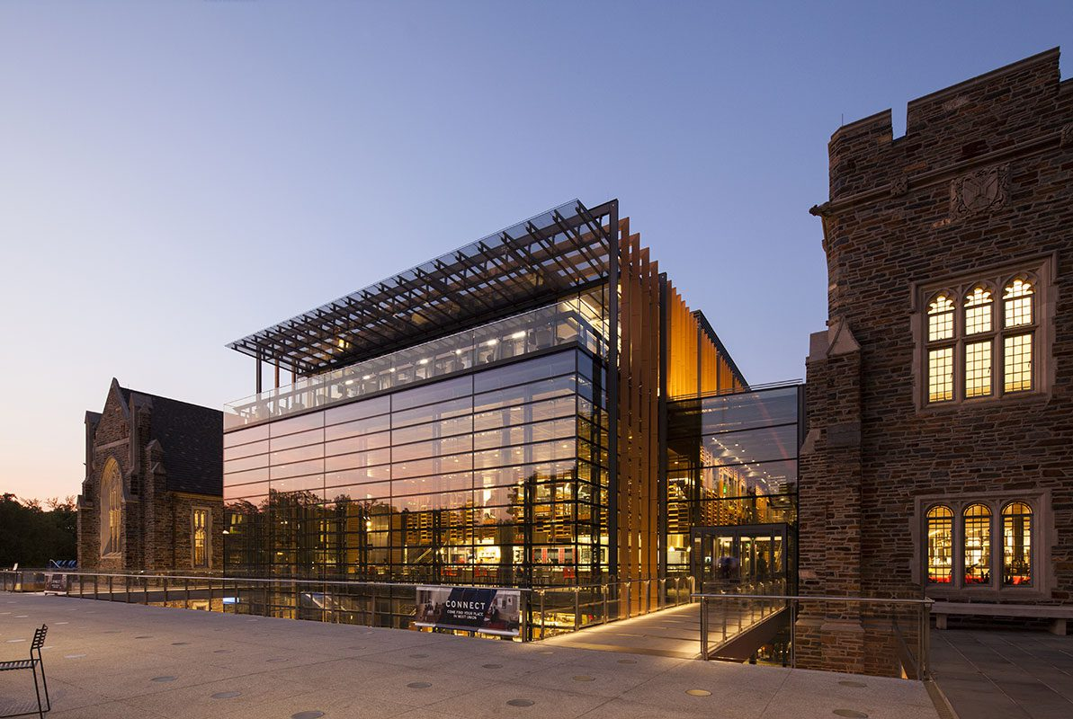 Duke University West Union Building Placed in Architectural Digests Top 9 Best New University Buildings Around the World