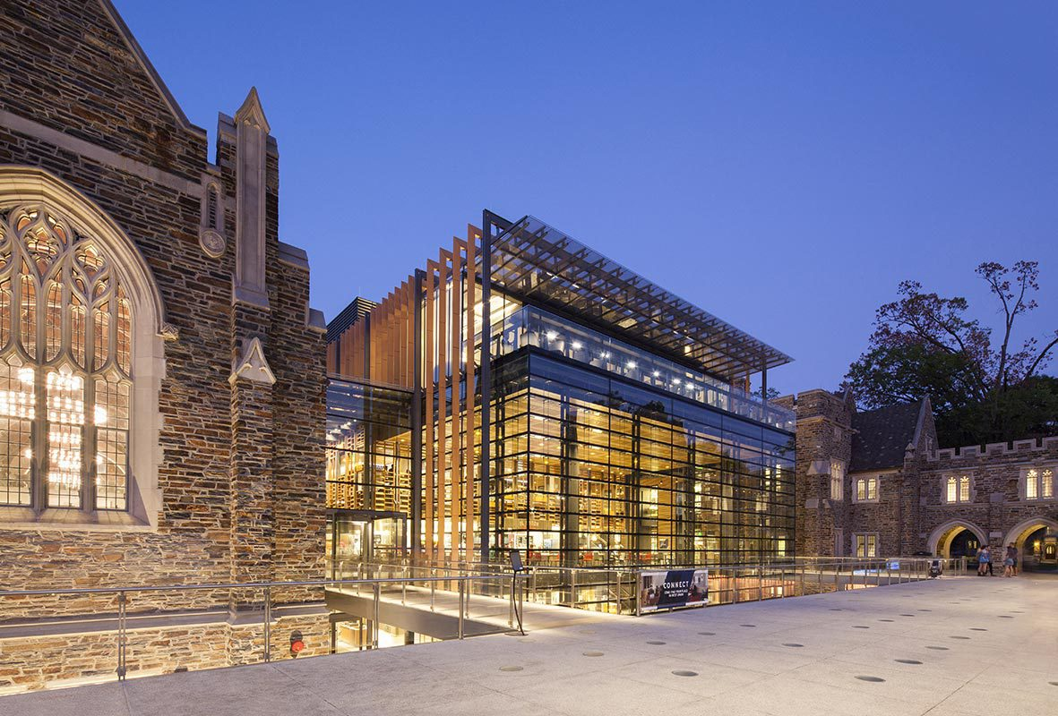 Duke University's West Campus Union covered in Architectural Record