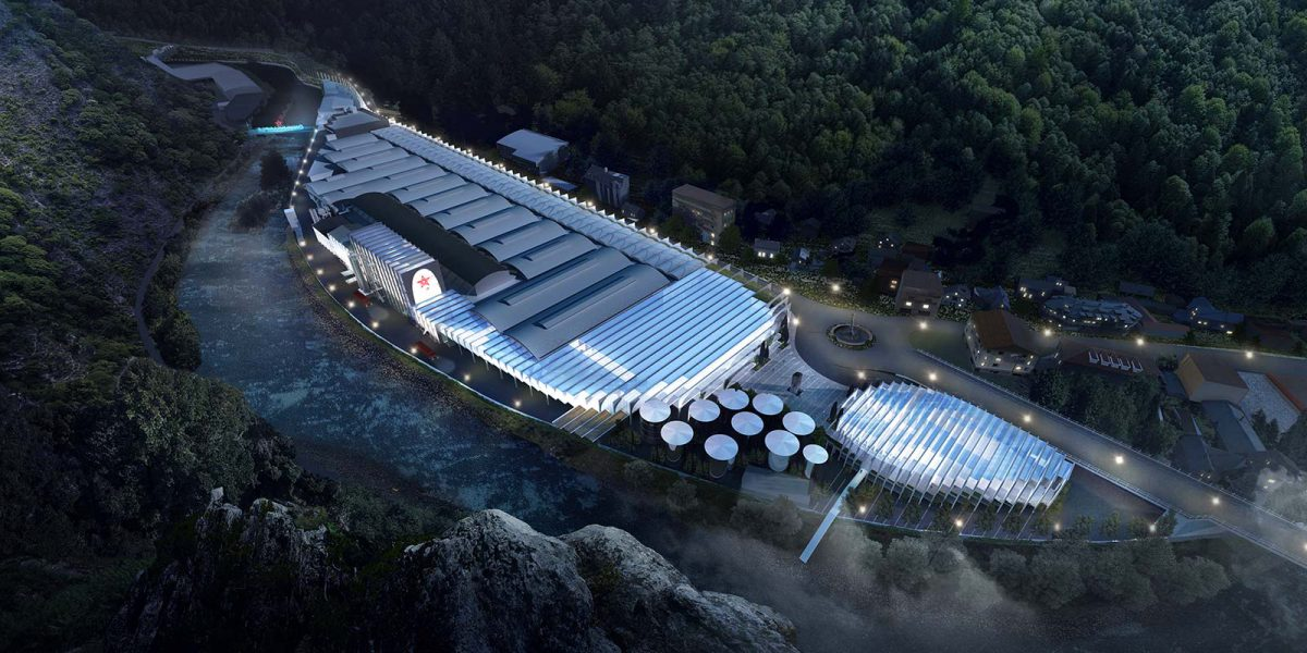 BIG Wins International Competition to Design S.Pellegrino's Flagship Factory