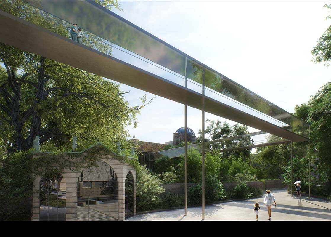 Brera-Citterio Pedestrian Bridge Animation