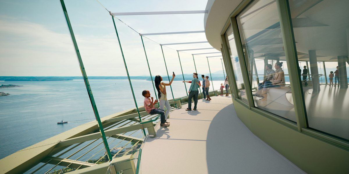See What's up with the Seattle Space Needle Renovation