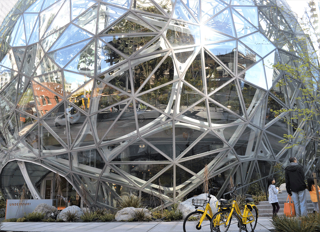 Amazon Spheres - Seattle, WA