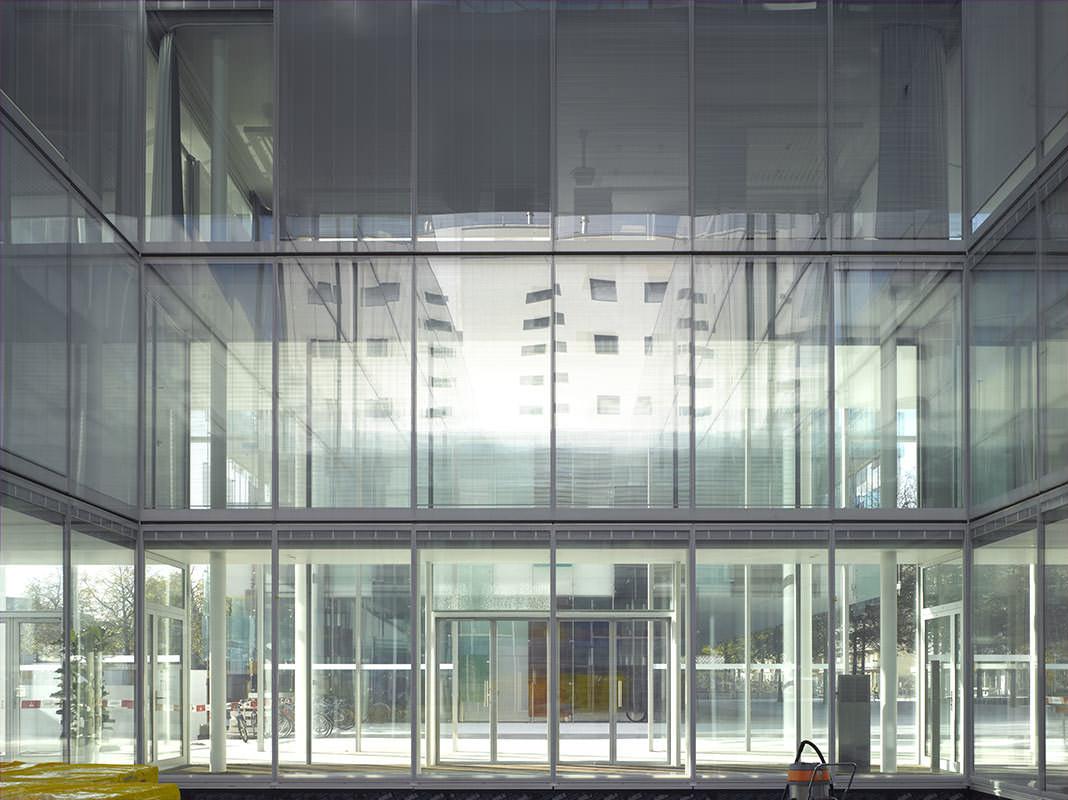 Novartis Fabrikstrasse 4 Office Building Novartis Global Headquarters Campus Front Inc
