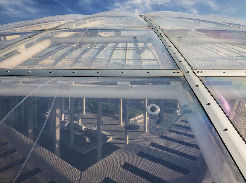 Suny Albany Podium Skylight Additions To E D Stone