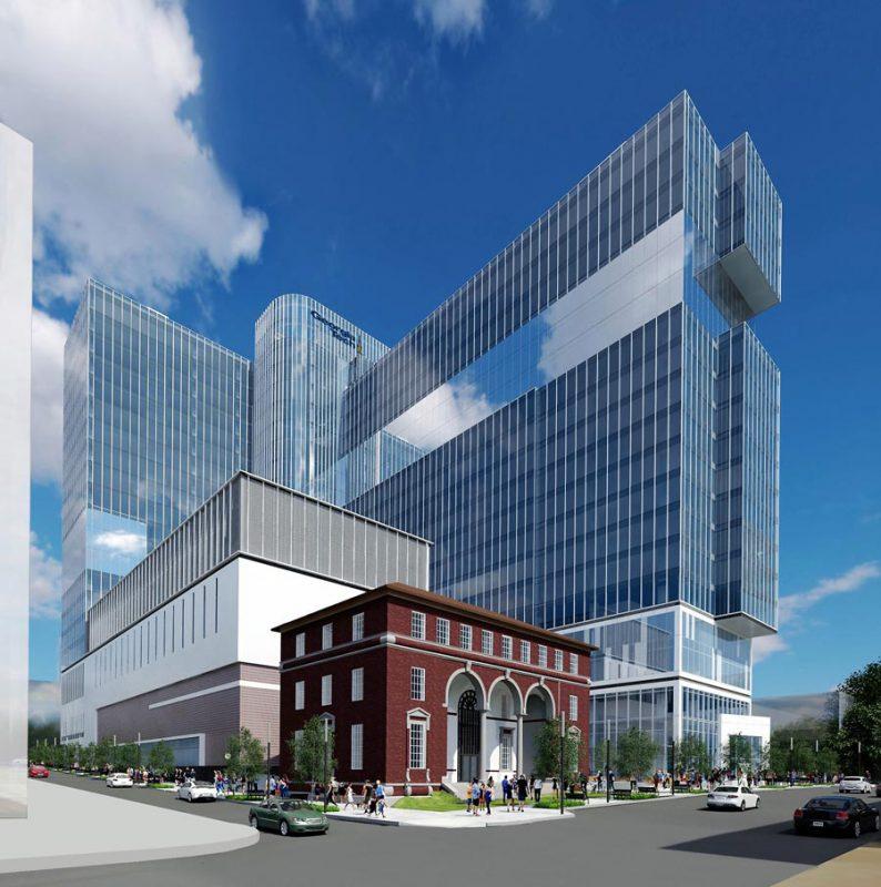 John Portman & Associates Unveils A Tech Center For Midtown Atlanta